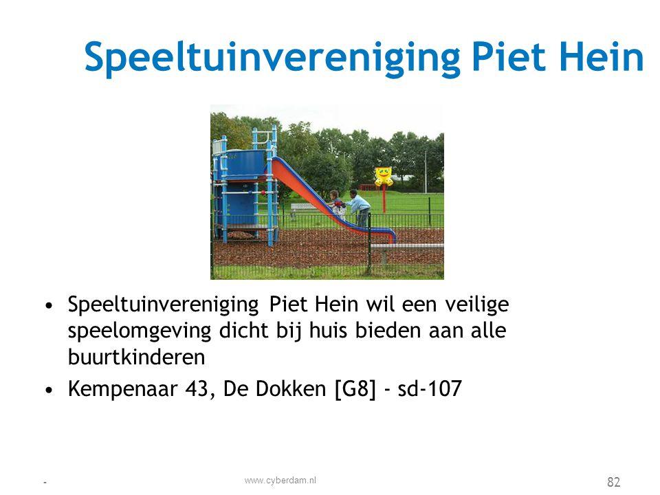 Speeltuinvereniging Piet Hein