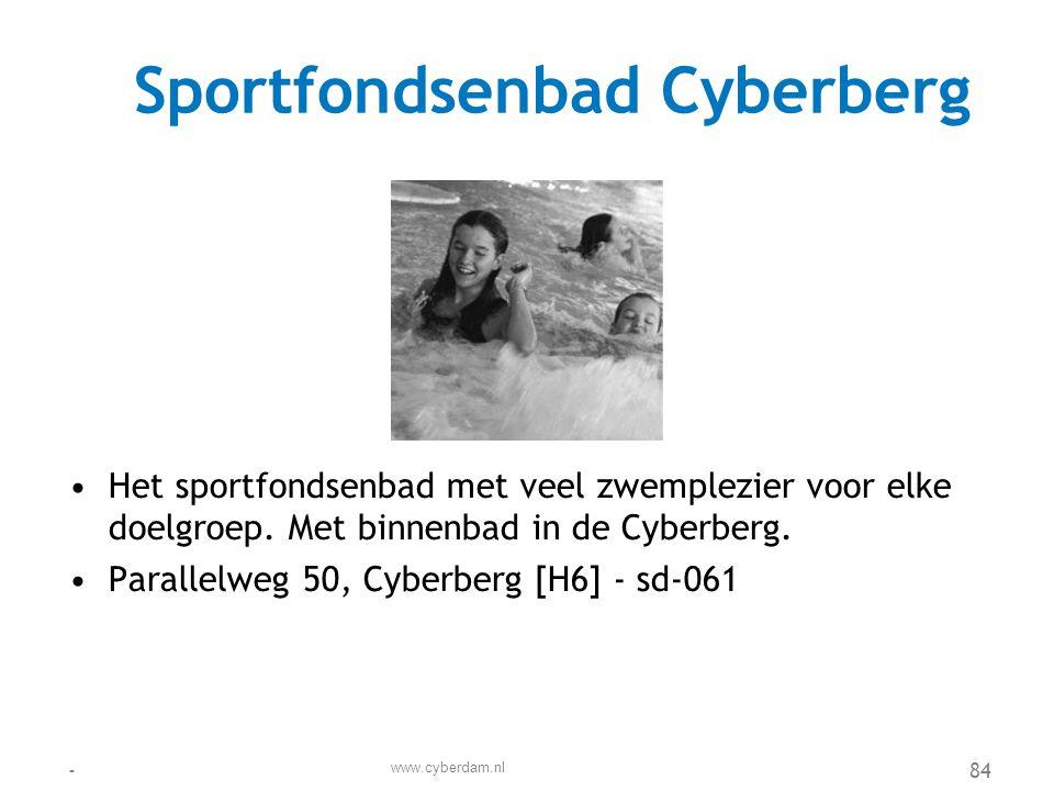 Sportfondsenbad Cyberberg
