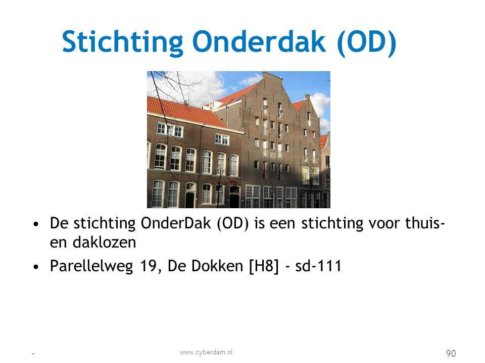 Stichting Onderdak (OD)
