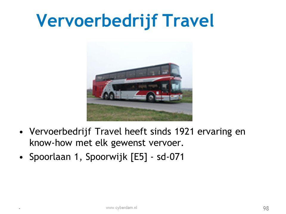 Vervoerbedrijf Travel