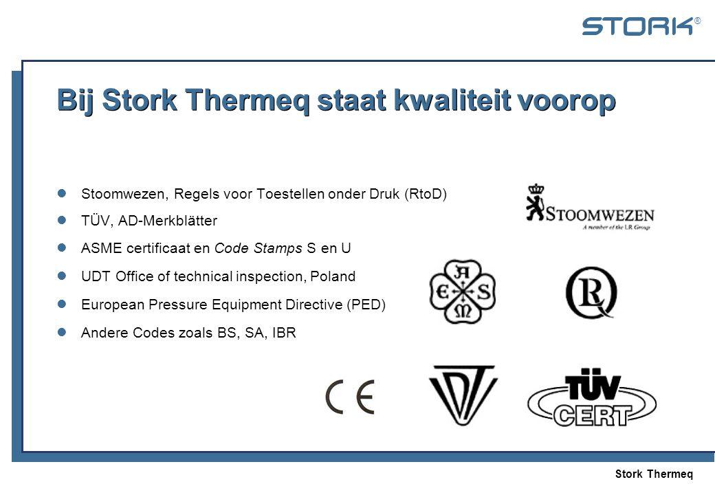 Bij Stork Thermeq staat kwaliteit voorop