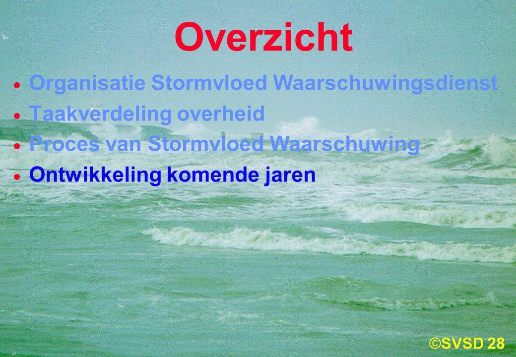 Overzicht Organisatie Stormvloed Waarschuwingsdienst