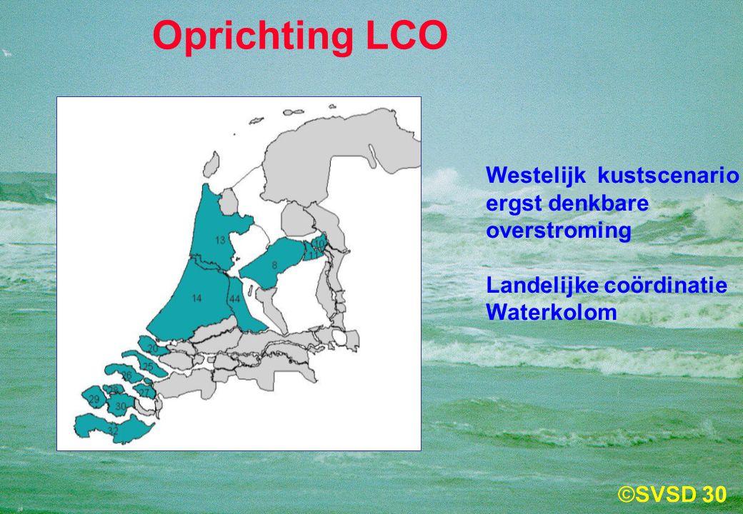Oprichting LCO Westelijk kustscenario ergst denkbare overstroming