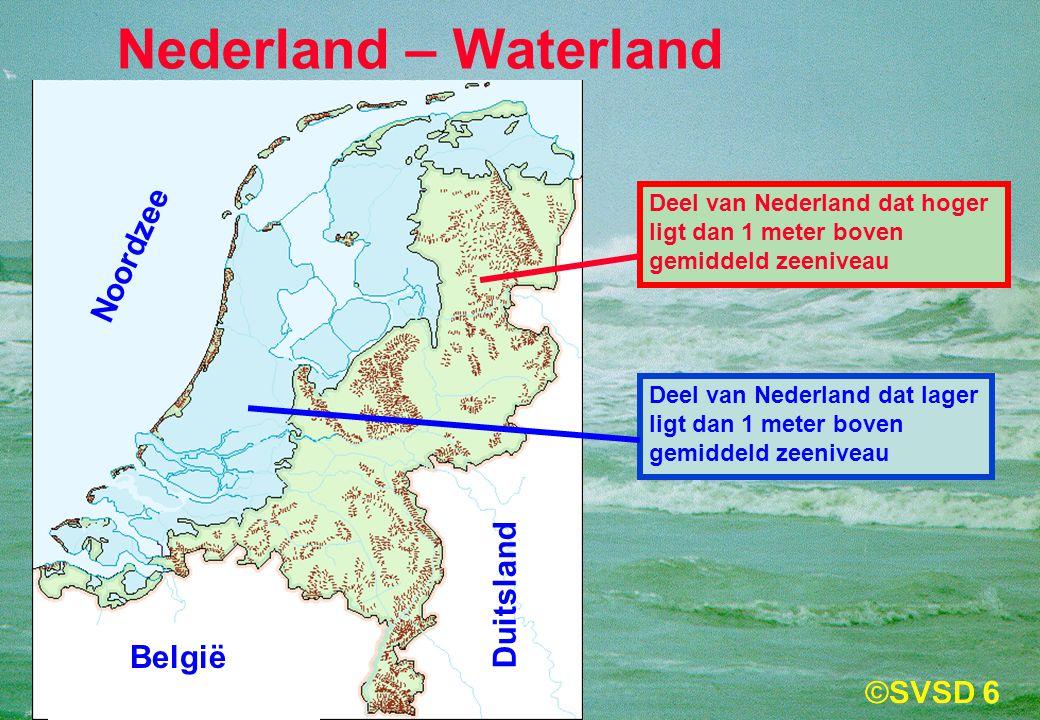 Nederland – Waterland Noordzee Duitsland België