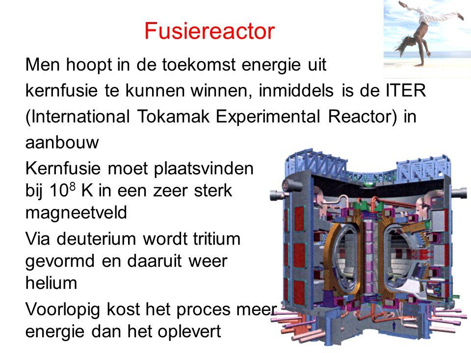 Fusiereactor Men hoopt in de toekomst energie uit