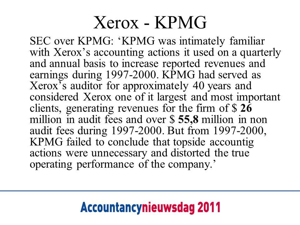Xerox - KPMG