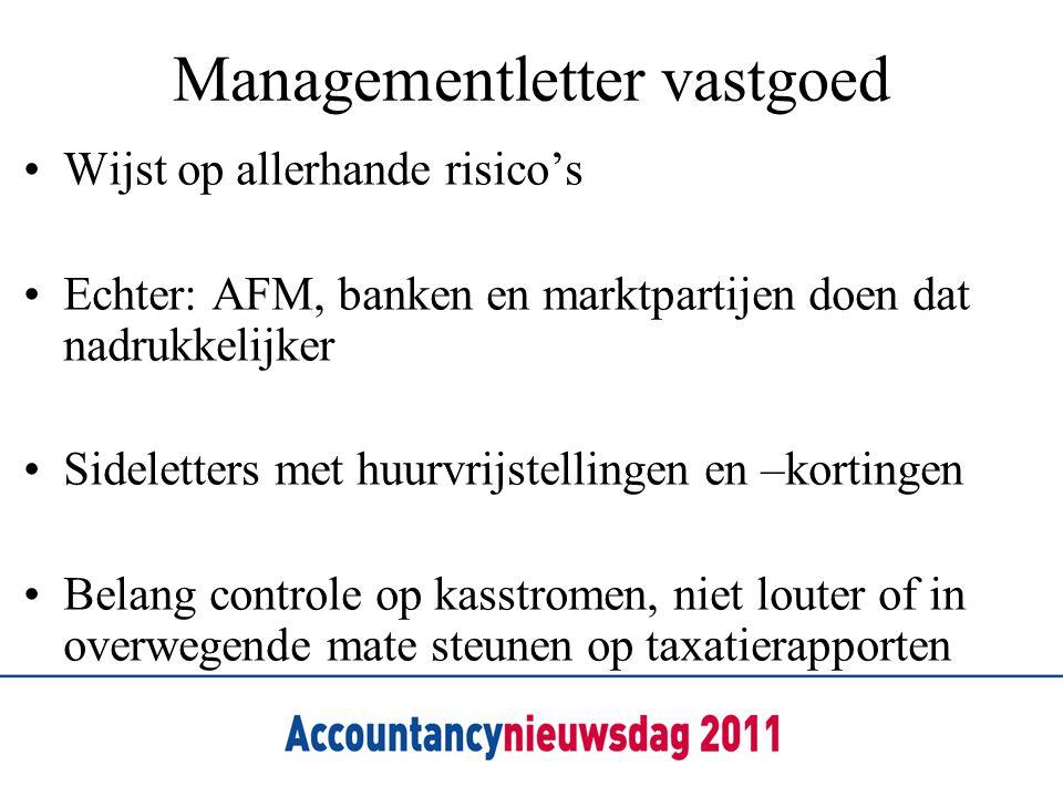 Managementletter vastgoed