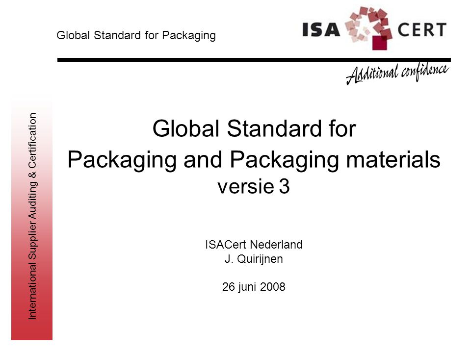Packaging and Packaging materials