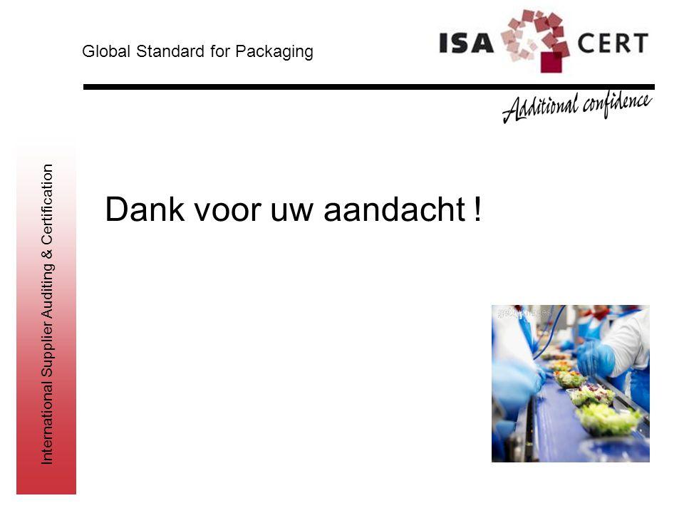Global Standard for Packaging