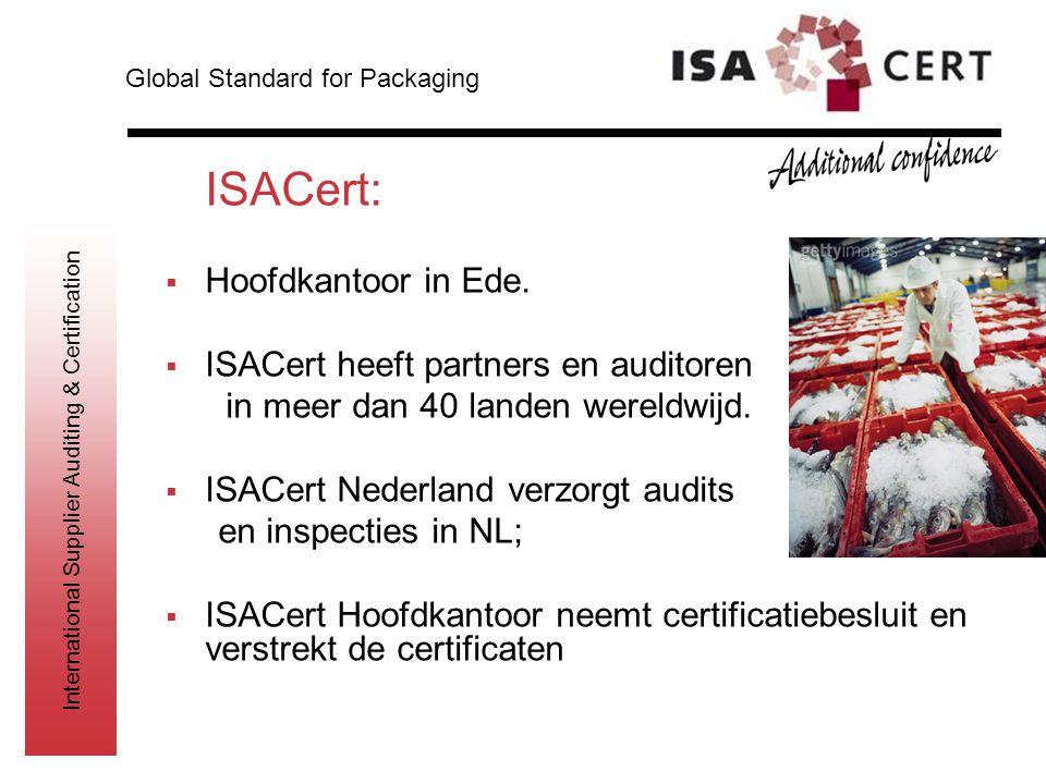ISACert: Hoofdkantoor in Ede. ISACert heeft partners en auditoren