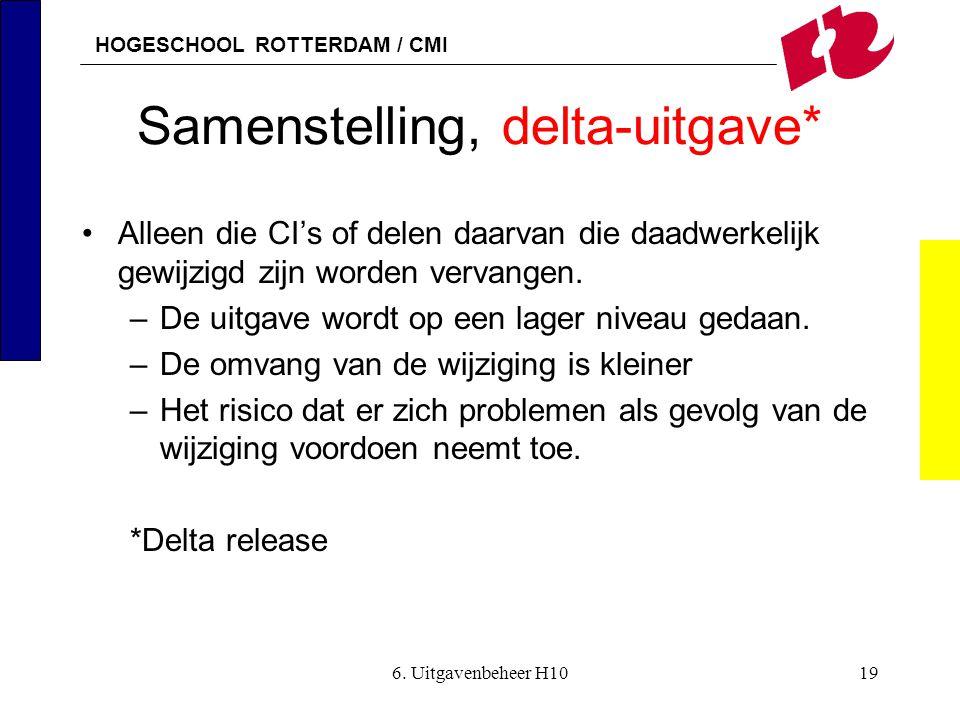 Samenstelling, delta-uitgave*