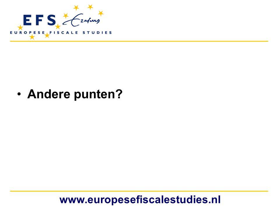 Andere punten www.europesefiscalestudies.nl
