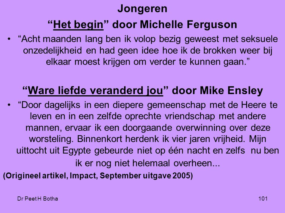Het begin door Michelle Ferguson