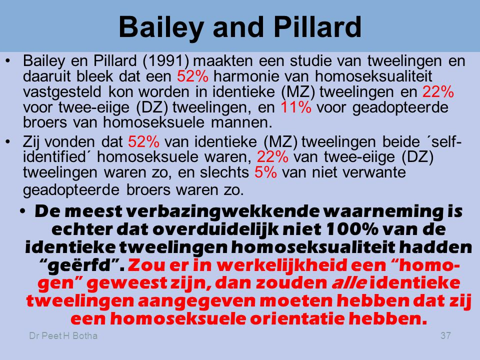 Bailey and Pillard