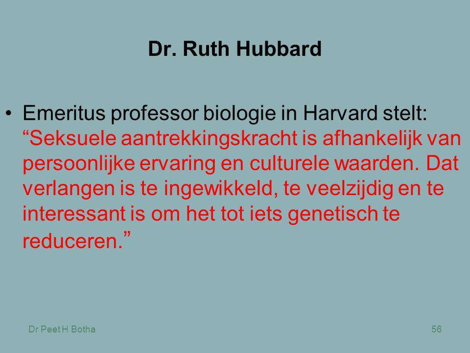 Dr. Ruth Hubbard