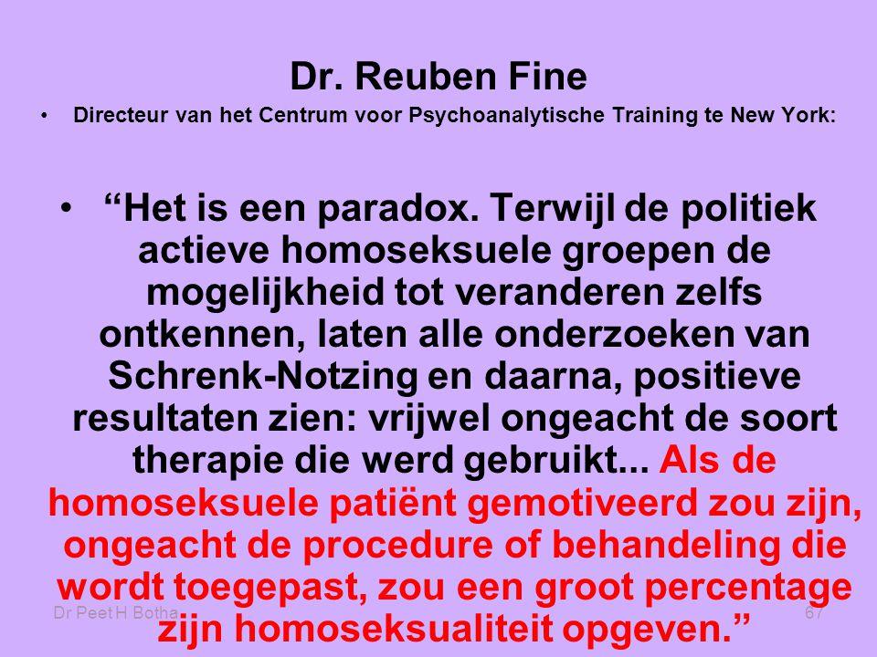 Directeur van het Centrum voor Psychoanalytische Training te New York: