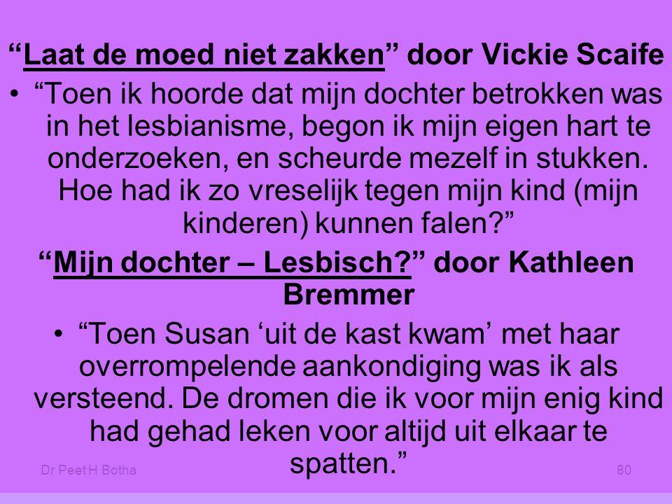 Laat de moed niet zakken door Vickie Scaife