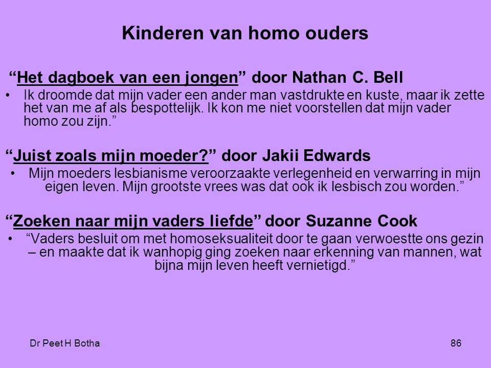Kinderen van homo ouders