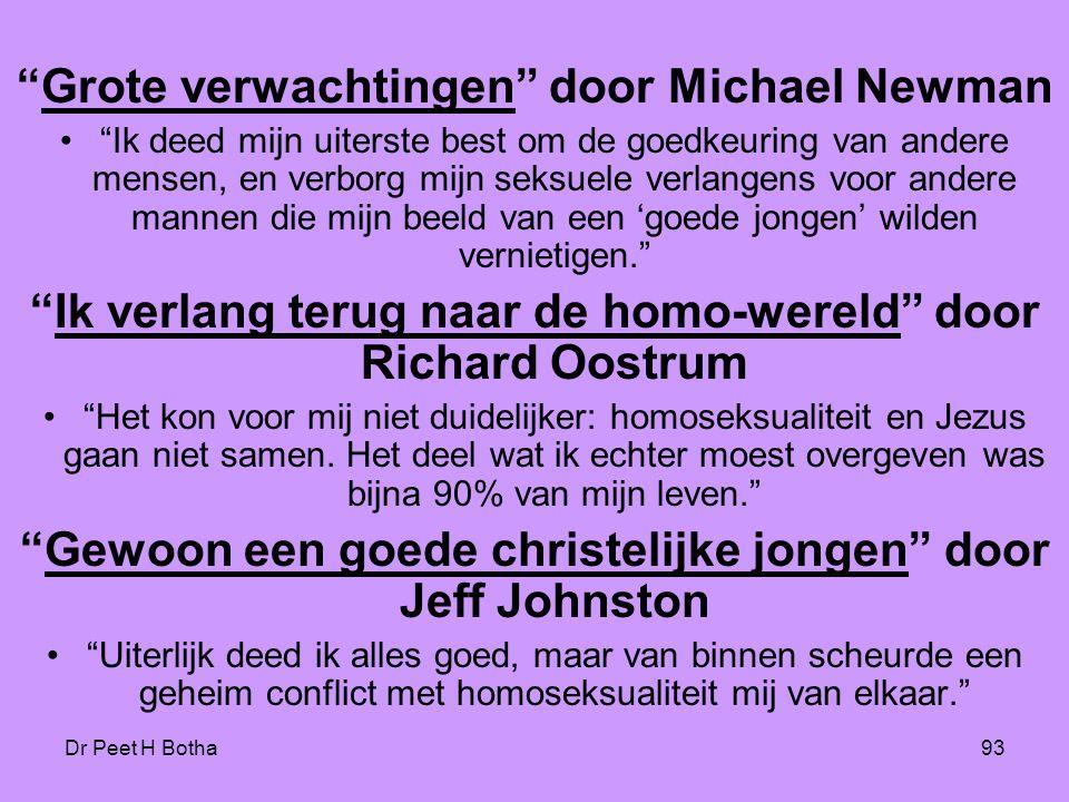 Grote verwachtingen door Michael Newman