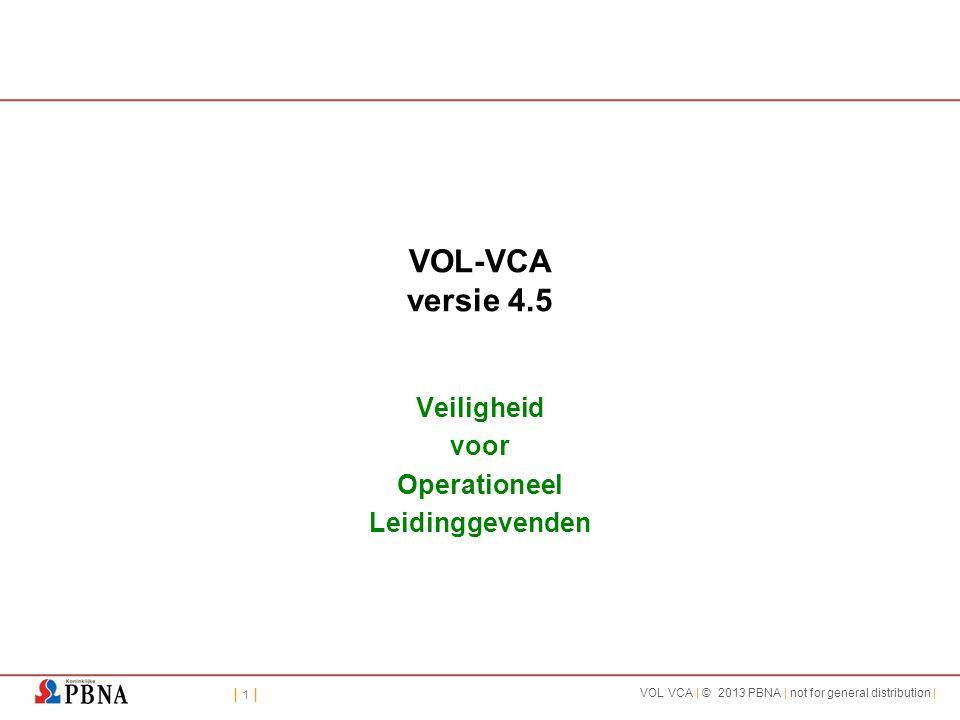VOL-VCA - versie 4.4 Veiligheid voor Operationeel Leidinggevenden