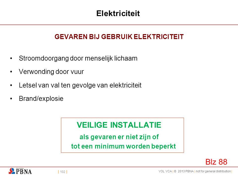 Elektriciteit VEILIGE INSTALLATIE