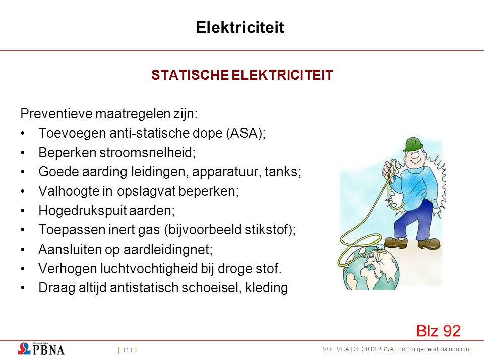 STATISCHE ELEKTRICITEIT