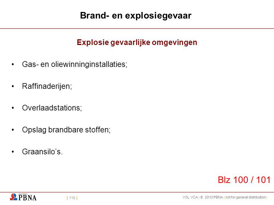 Brand- en explosiegevaar