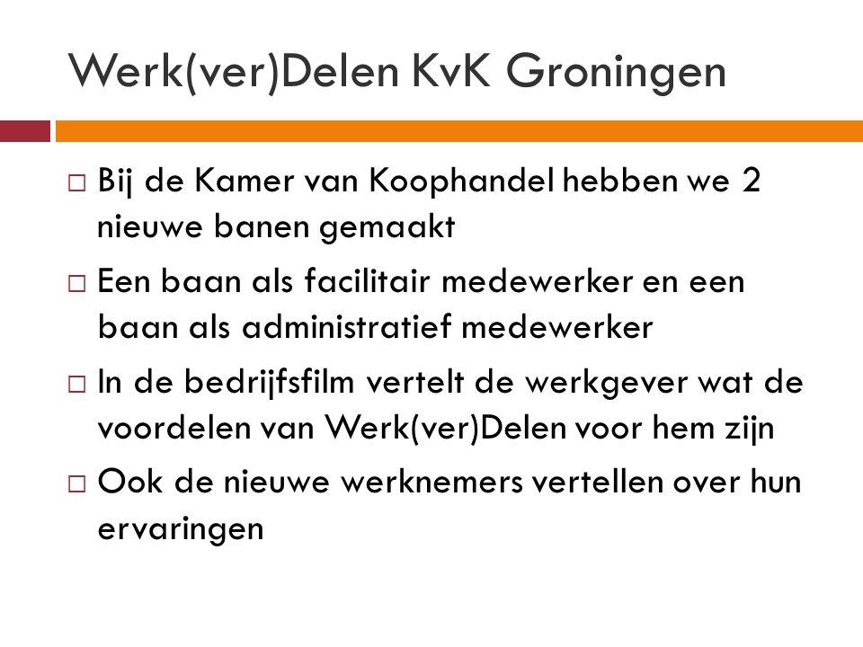 Werk(ver)Delen KvK Groningen