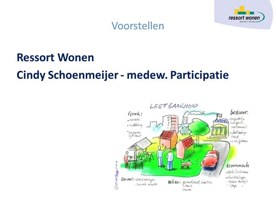 Cindy Schoenmeijer - medew. Participatie