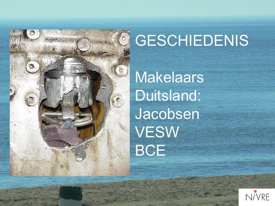 GESCHIEDENIS Makelaars Duitsland: Jacobsen VESW BCE