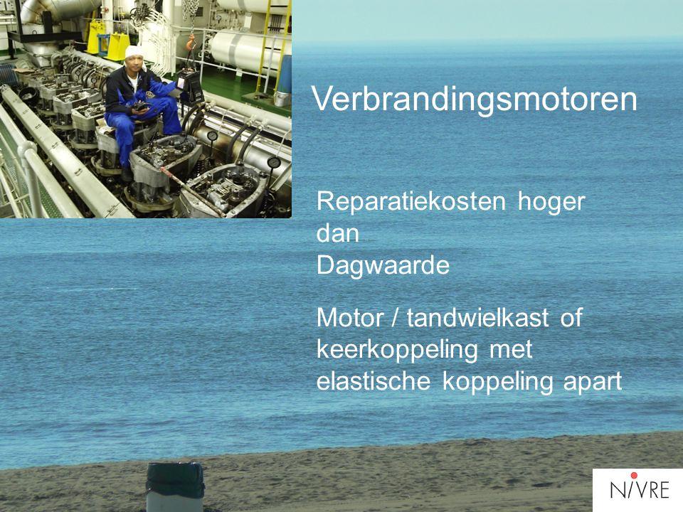 Verbrandingsmotoren Reparatiekosten hoger dan Dagwaarde
