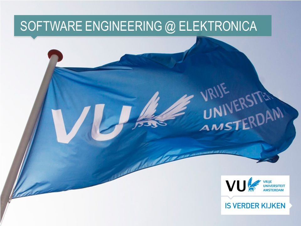 Software engineering @ elektronica