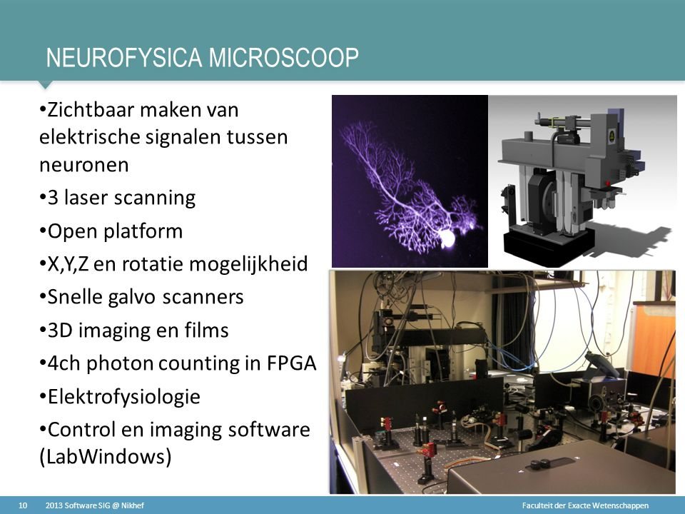 Neurofysica microscoop