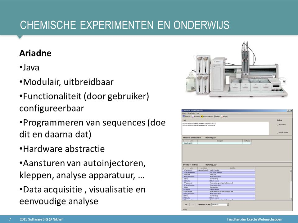 Chemische experimenten en onderwijs