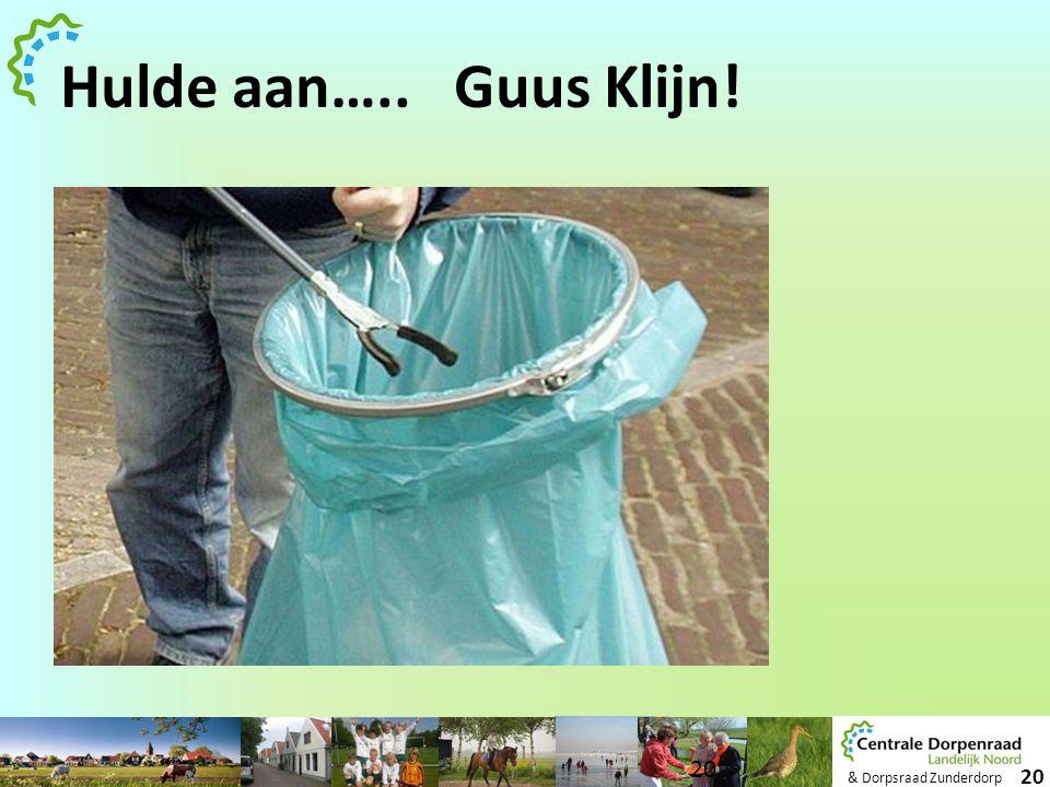Hulde aan….. Guus Klijn!