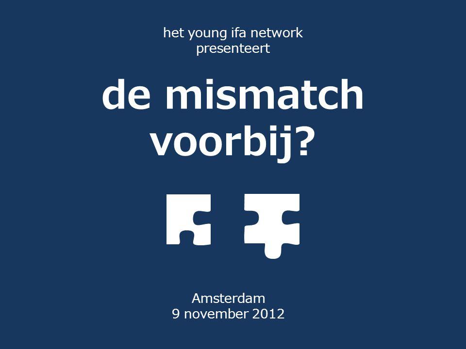 het young ifa network presenteert de mismatch voorbij