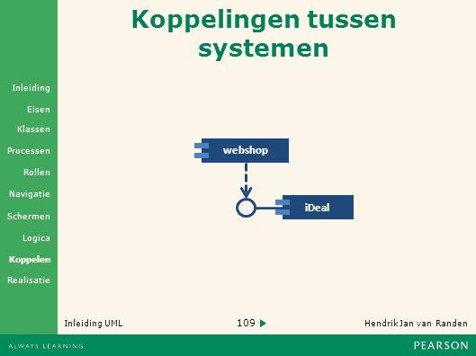 Koppelingen tussen systemen