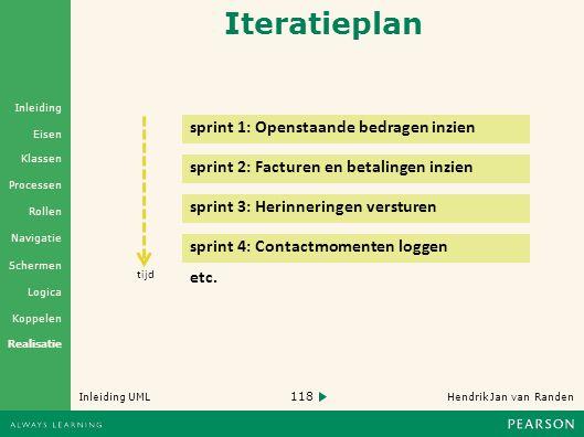 Iteratieplan sprint 1: Openstaande bedragen inzien