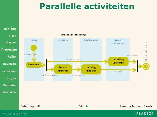 Parallelle activiteiten