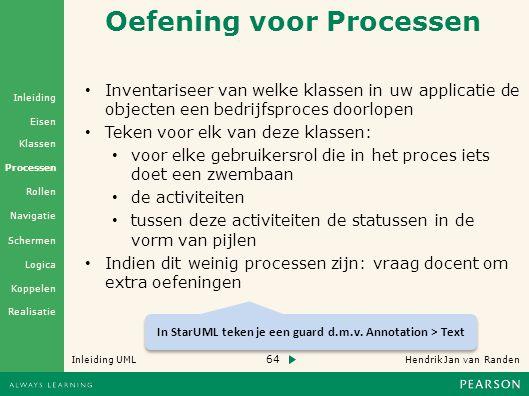 Oefening voor Processen