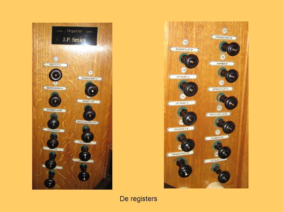 De registers