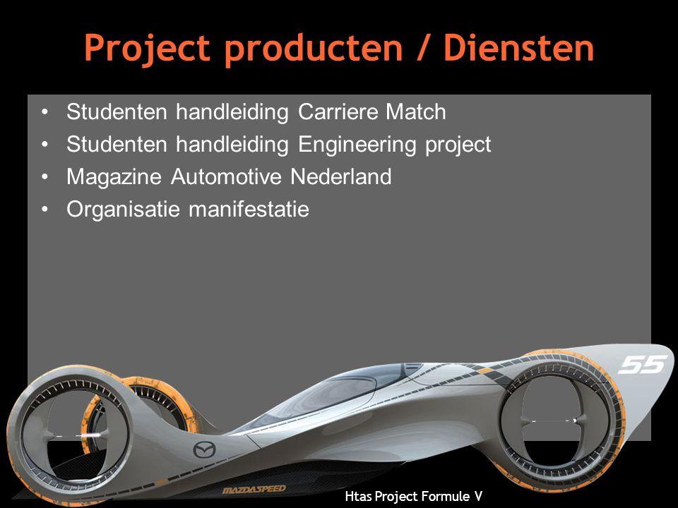 Project producten / Diensten