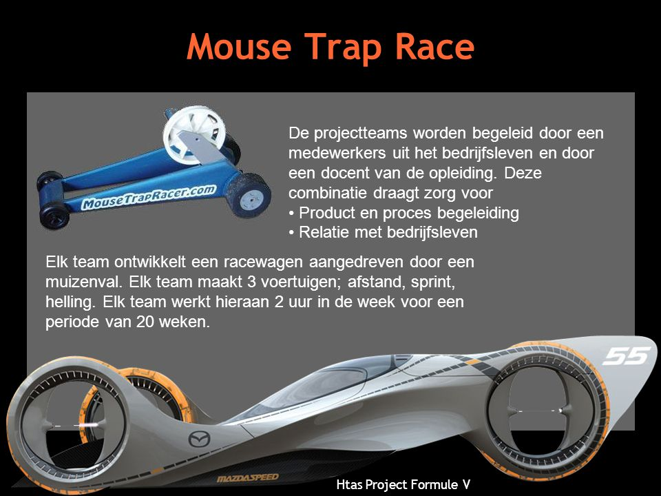 Mouse Trap Race