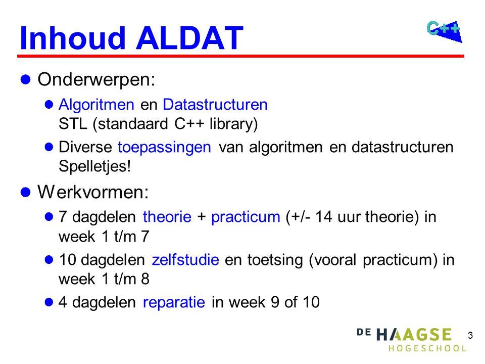 Algoritmen en Datastructuren (ALDAT)