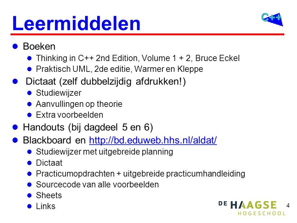 Inhoud ALDAT Onderwerpen: Werkvormen: