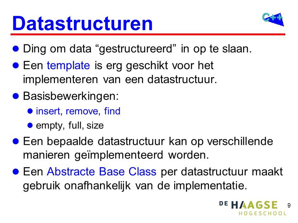 Klassieke datastructuren