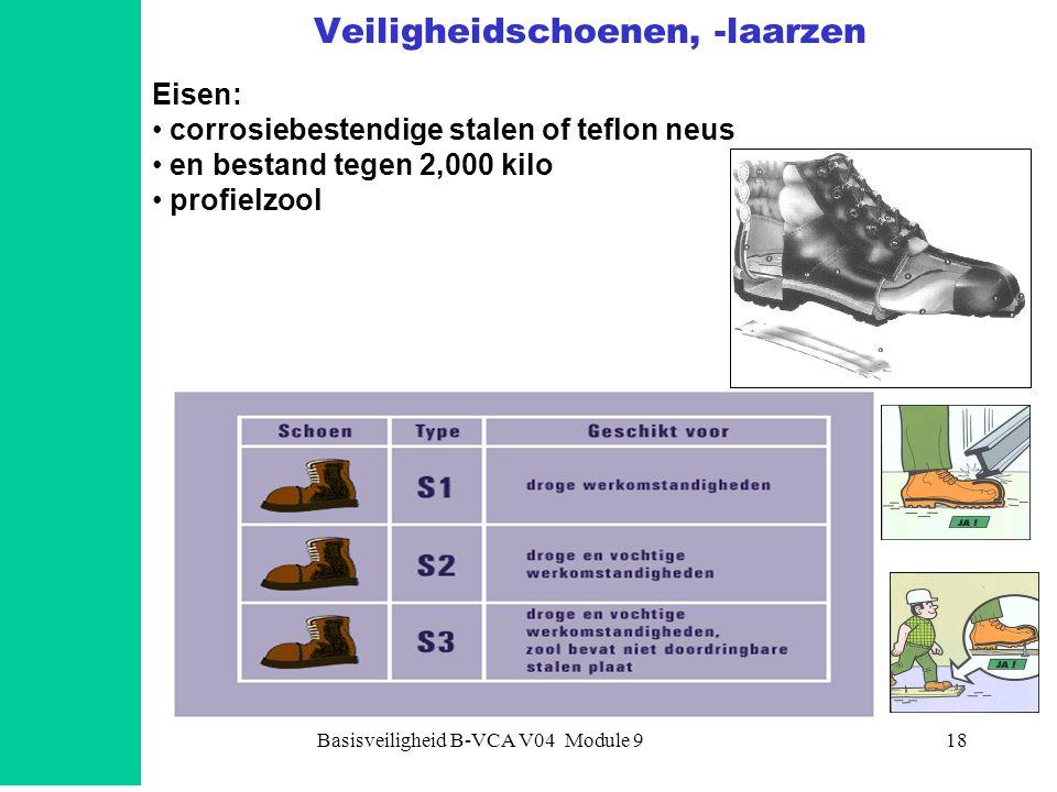 Veiligheidschoenen, -laarzen