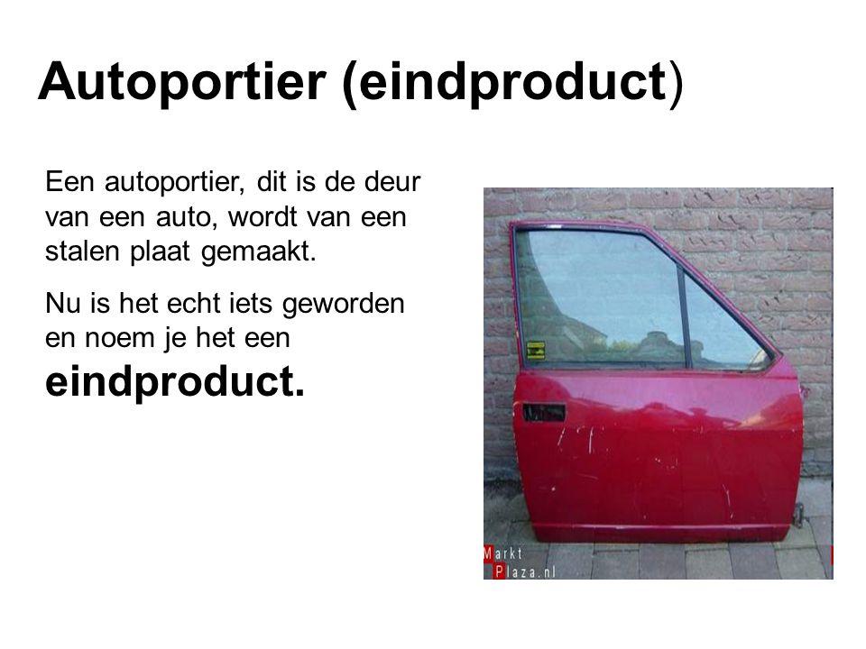 Autoportier (eindproduct)