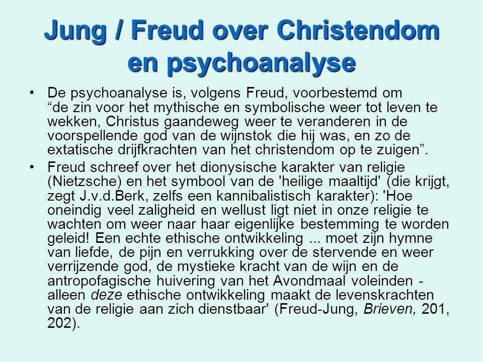 Jung / Freud over Christendom en psychoanalyse
