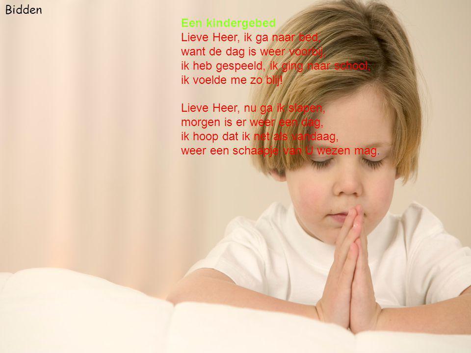 Bidden Een kindergebed.